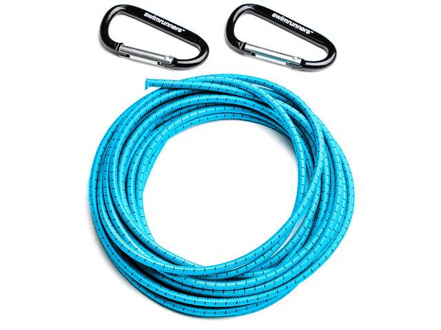 Swimrunners Support Pull Belt Cord DIY 5m, blue